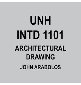 INTD 1101 - ARCHITECTURAL DRAWING