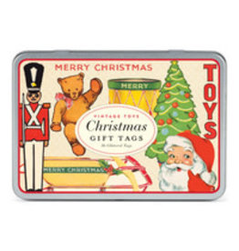 CAVALLINI & CO. GIFT TAGS CHRISTMAS TOYS