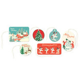 CAVALLINI & CO. GIFT TAGS WINTER WONDERLAND