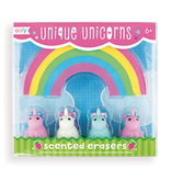 OOLY ERASER UNIQUE UNICORNS SET/5