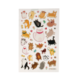 OOLY ITSY BITSY STICKERS PUFFY PETS