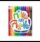 OOLY MAKE NO MISTAKE ERASABLE MARKER SET/12