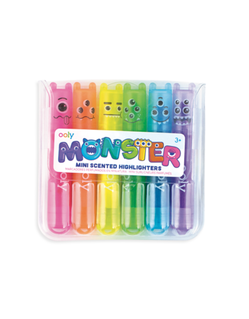 OOLY MINI MONSTER SCENTED MARKERS 6PK
