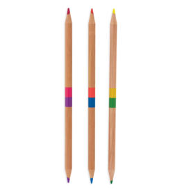 OOLY TWO OF A KIND COLOR PENCIL SET/24