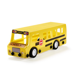 STANLEY JR. SMALL BUILDING KIT SCHOOL BUS