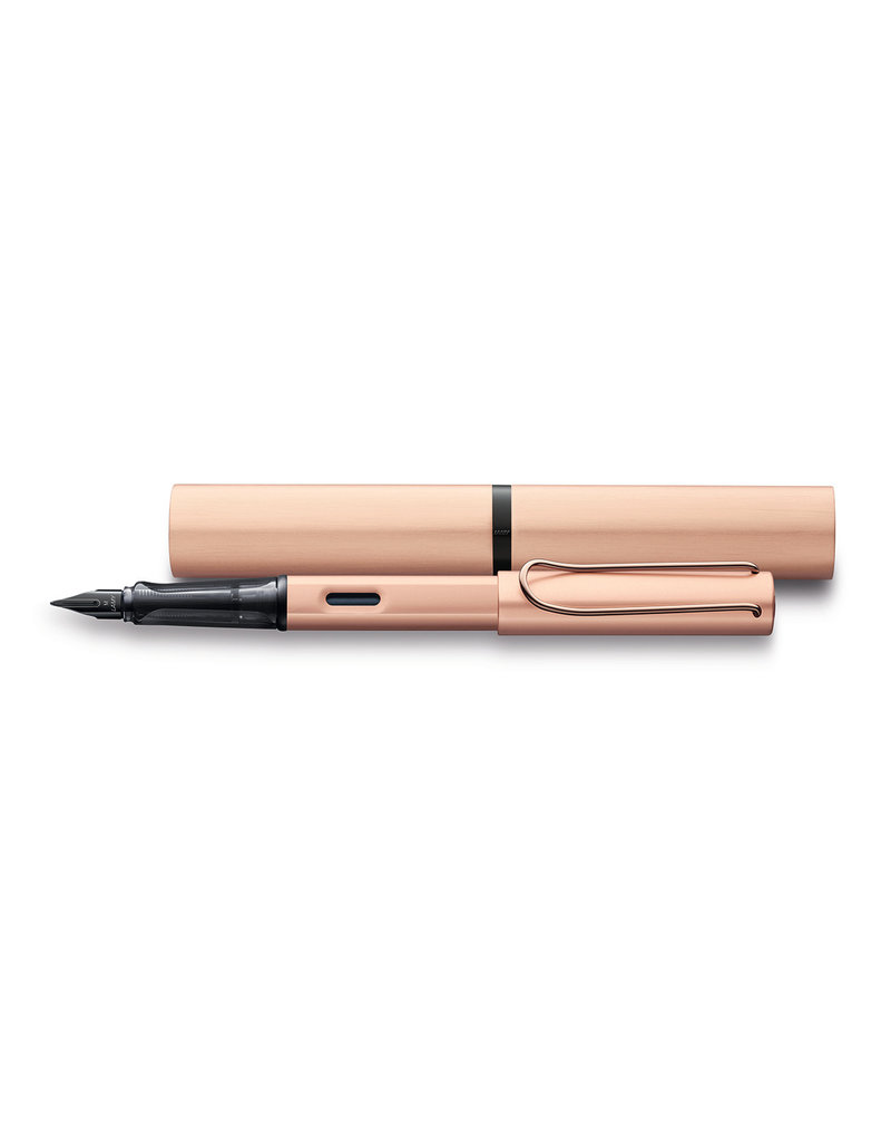 LAMY LAMY LX RAU ROSE GOLD FOUNTAIN PEN FINE