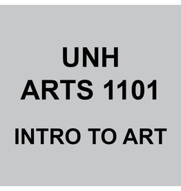 ARTS 1101 - UNH INTRO TO ART