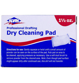 PROFESSIONAL DRAFTING DRY CLEANING PAD 3oz
