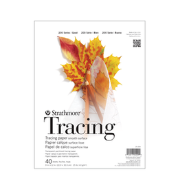 "STRATHMORE TRACING PAPER PAD 200-SERIES 9""x12"""