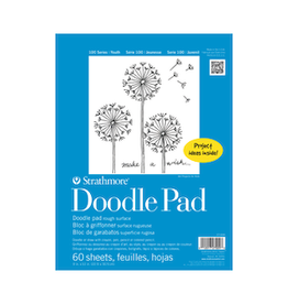 """STRATHMORE DOODLE PAD 100-SERIES 9""""x12"""""""