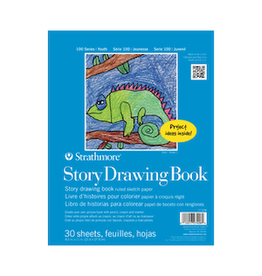 """STRATHMORE STORY DRAWING PAD 100-SERIES 8.5""""x11"""""""