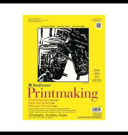 "STRATHMORE PRINTMAKING PAD LIGHTWEIGHT 300-SERIES 11""x14"""
