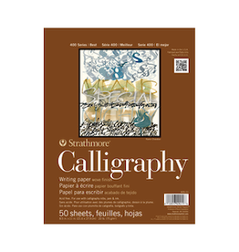 "STRATHMORE CALLIGRAPHY PAD 400-SERIES 8.5""x11"""