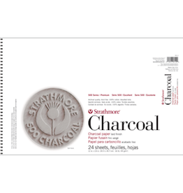 "STRATHMORE CHARCOAL PAD ASSORTED TINTS 12""x18"""