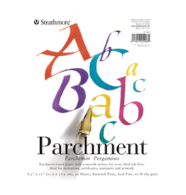 STRATHMORE PARCHMENT PAD 200-SERIES 8.5''x11''