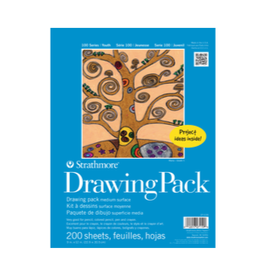 """STRATHMORE DRAWING PAPER PACK 100-SERIES 9""""x12"""""""