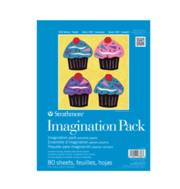 """STRATHMORE IMAGINATION PACK 100-SERIES 9""""x12"""""""
