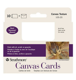 "STRATHMORE ART SURFACE CARDS CANVAS 4""x9"""