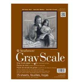 """STRATHMORE GREY SCALE PAD 9""""x12"""""""