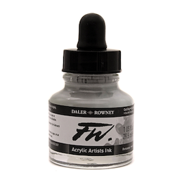 DALER-ROWNEY FW INK 1oz COOL GREY