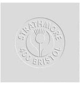 "STRATHMORE BRISTOL SHEET VELLUM 2PLY 400-SERIES 22""x30"""