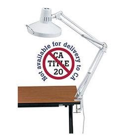 ALVIN WHITE COMBINATION LAMP
