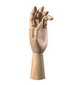 HERITAGE ARTS MANIKIN LEFT HAND 12''