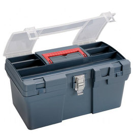 HERITAGE MEDIUM BLUE ART TOOL BOX 16X9.5X8