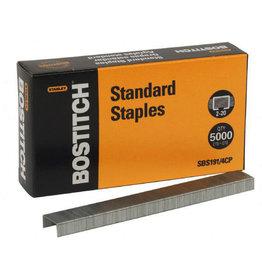 STANLEY STANDARD STAPLES BOX/5000