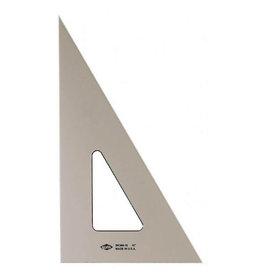 "ALVIN SMOKE-TINT TRIANGLE 30/60 6"""