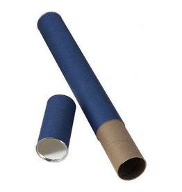 "ALVIN MAILING TUBE BLUE 2.5 "" X 25"""