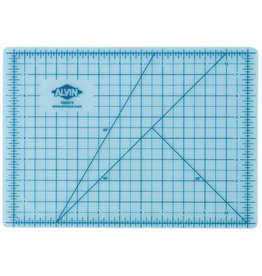 "ALVIN TRANSLUCENT SELF-HEALING CUTTING MAT 12""X18"""