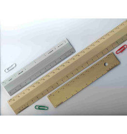 ALUMICOLOR ARCHITECT SCALE 4-BEVEL  SILVER 12''