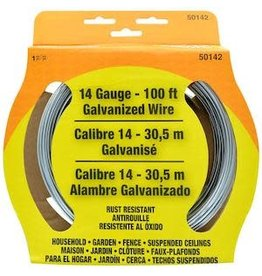 OOK GALVANIZED WIRE STEEL 100' 14-GAUGE