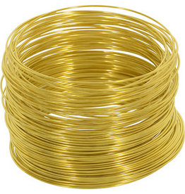 OOK GALVANIZED WIRE BRASS 75' 22-GAUGE