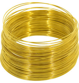 OOK GALVANIZED WIRE BRASS 100' 24-GAUGE