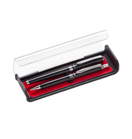 PENTEL LIBRETTO 0.7mm PEN & 0.5mm PENCIL SET BLACK