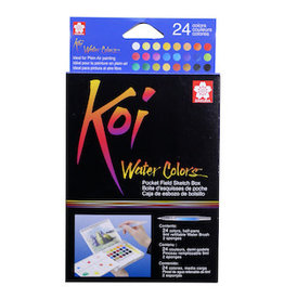 KOI WATERCOLORS KOI WATERCOLOR FIELD SKETCHBOX SET/24
