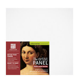 AMPERSAND ARTIST PANEL CANVAS TEXTURE 1.5'' 6x6