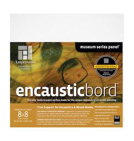 AMPERSAND ENCAUSTICBORD 1.5'' CRADLED 8x8