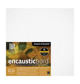 AMPERSAND ENCAUSTICBORD 1.5'' CRADLED 12x12
