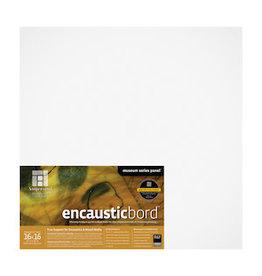 AMPERSAND ENCAUSTICBORD 1.5'' CRADLED 16x16