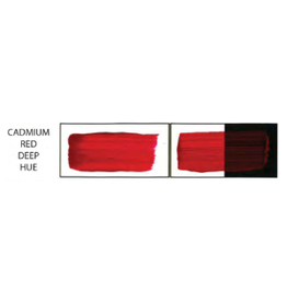 HULL'S HULLS ACRYLIC 16OZ JAR CADMIUM RED DEEP HUE