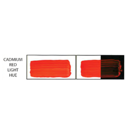 HULL'S HULLS ACRYLIC 16OZ JAR CADMIUM RED LIGHT HUE