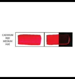 HULLS ACRYLIC 16OZ JAR CADMIUM RED MEDIUM HUE