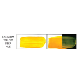 HULL'S HULLS ACRYLIC 16OZ JAR CADMIUM YELLOW DEEP HUE