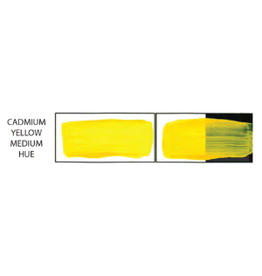 HULL'S HULLS ACRYLIC 16OZ JAR CADMIUM YELLOW MEDIUM HUE