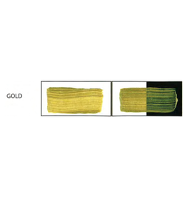 HULLS ACRYLIC 16OZ JAR GOLD