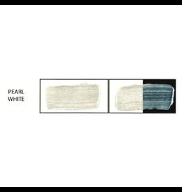 HULLS ACRYLIC 32OZ JAR PEARL WHITE