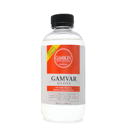 GAMBLIN GAMVAR GLOSS VARNISH 8.5oz